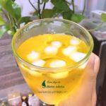 Pha nước saffron