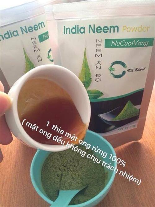 Công thức làm đẹp với bột lá neem cho làn da sáng và rực rỡ