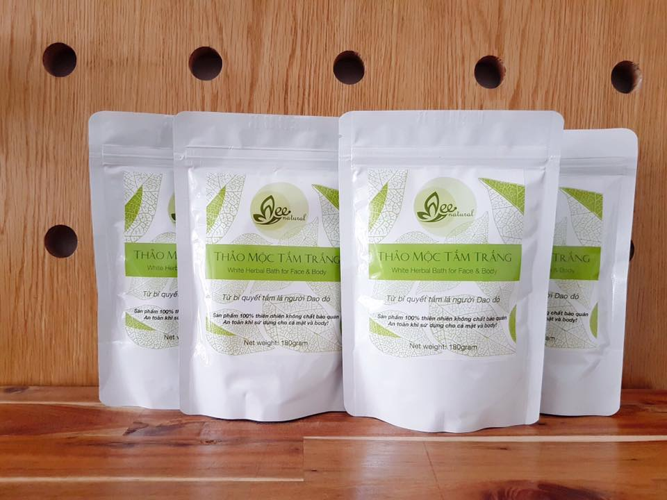 Thảo mộc tắm trắng Mee Natural - Mee Group