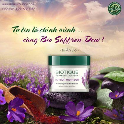 Kem dưỡng da Bio Saffron Dew