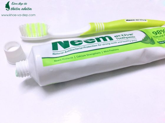 Kem đánh răng Neem Active Ấn Độ