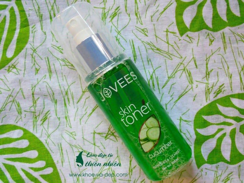 Toner dưa leo - Jovees Cucumber Skin Toner